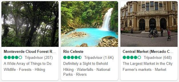 Costa Rica Attractions 2