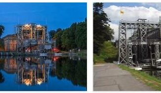 Canal du Center Boat Lifts (World Heritage)